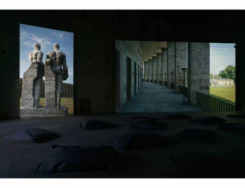 David Claerbout on His Time Based 'Olympia' Installation