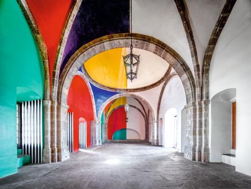 600 anni di architettura messicana nelle foto di Candida Höfer
