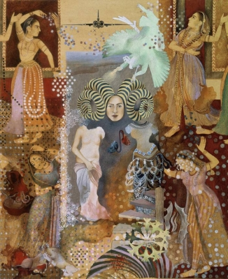 Shahzia Sikander at the Morgan — vast worlds in pocket-sized pictures
