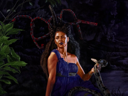 Kehinde Wiley's Trickster: Vivid Portraits of Artists - In Pictures