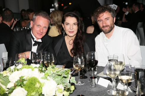 Marina Abramovic and Thomas Heatherwick Honored at the Royal Academy America 2017 Gala