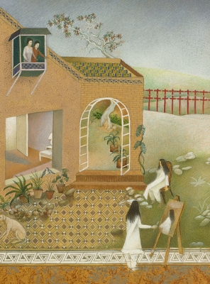 Women Artists of the Middle East and South Asia Are Reinventing Miniature Painting