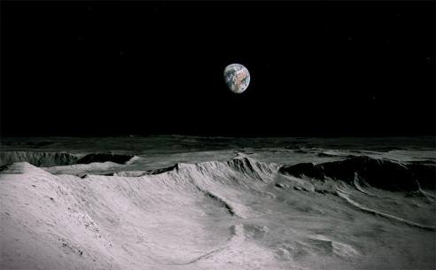 Antony Gormley's maiden VR voyage blasts off to the moon