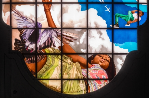 Three 'astonishing' works of art are inside the new Moynihan Train Hall