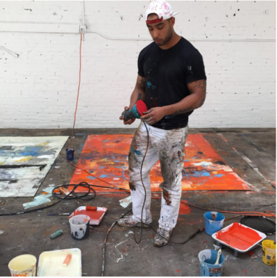 See How Hugo McCloud Makes a Painting