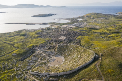 A Greek Island Will Get Its First Contemporary Artwork in 5,000 Years