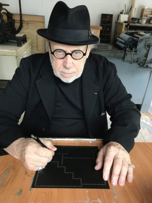 Making Conceptual Art in Asheville, NC with Joseph Kosuth During a Pandemic