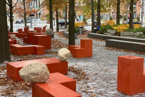 Jose Dávila reimagines Central Wharf Park to bring community together in time of pandemic isolation