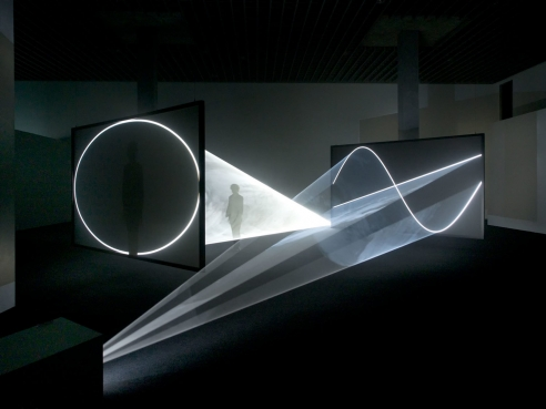 Anthony McCall: Split Second