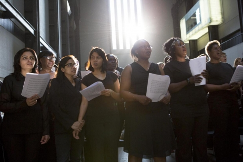 How a 500-strong amateur choir became the centerpiece of the new Tate Modern