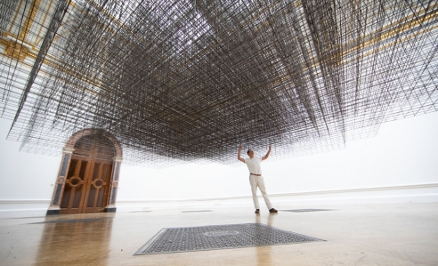 An Indoor Sea and Miles of Metalwork: Antony Gormley's Crowning Moment