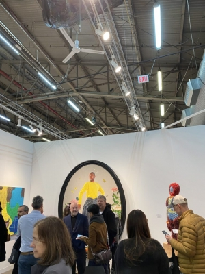 Despite the Threat of Coronavirus, Buyers Turned Out in Force at the Armory Show to Make Seven-Figure Deals—Just Without the Handshakes