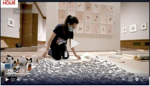 Artist Shahzia Sikander's work explores a plethora of extraordinary realities