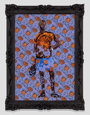 Looking at Kehinde Wiley and Thomas Gainsborough Side by Side