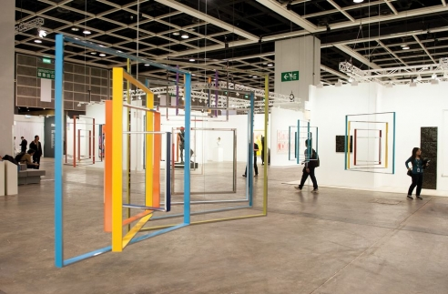 In pictures: hanging ghost ships and upside-down architecture at Art Basel in Hong Kong