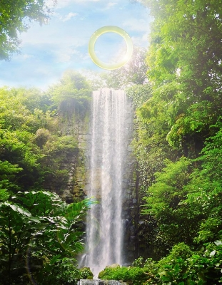 A Literal Ring of Light Will Hang Over the Brazilian Rainforest