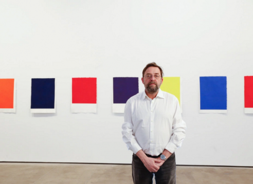 Callum Innes Mounts 'Imperfect' Work at Solo Sean Kelly Gallery Show