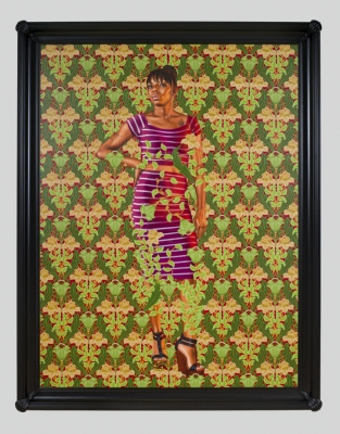 Kehinde Wiley's Painted Elegies for Ferguson