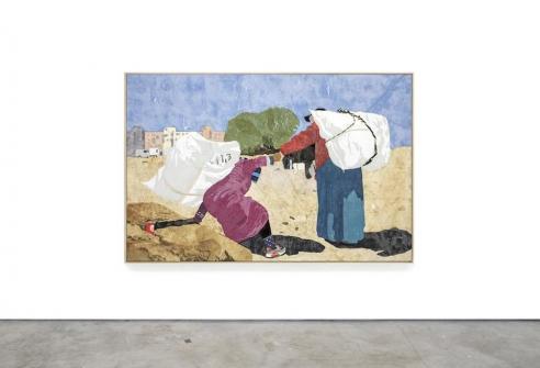 Hugo McCloud Uses Plastic Bags As Paint In A New Series Of Work