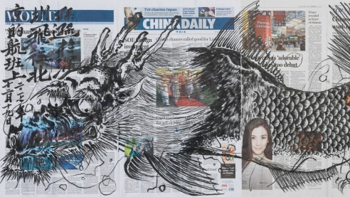 The grotesque, fantastical world of Chinese artist Sun Xun