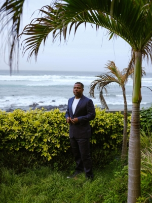 African-American artist Kehinde Wiley is laying down roots in Senegal
