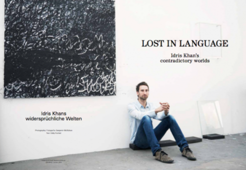 Lost In Language: Idris Khan's contradictory worlds