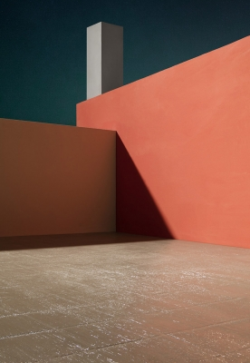 James Casebere Photographs Bright Table-Top Architecture