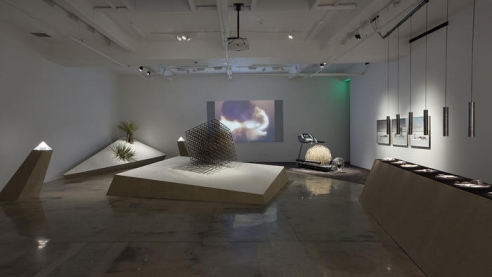 Review: Artists turn L.A. gallery into a museum of nuclear dystopia