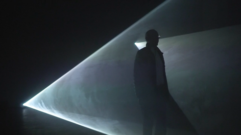 Anthony McCall's Solid Light Dazzles New Yorkers