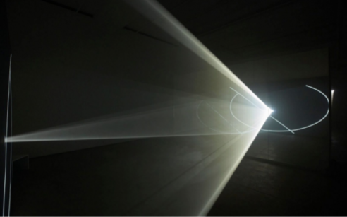Anthony McCall's Immersive Light and Haze Installations Take Viewers to Another Realm