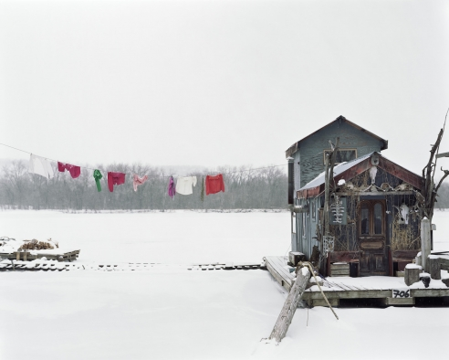In Paris: Alec Soth is Sleeping by the Mississippi