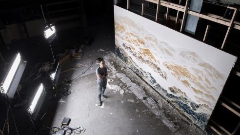 尚凱利藝廊正式宣布,代理臺灣藝術家吳季璁