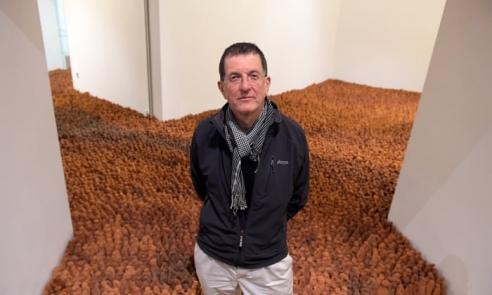 Antony Gormley's work of 40,000 terracotta figures goes on show