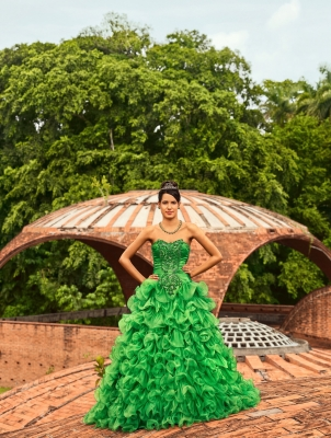 Traditions and Transitions:  Frank Thiel Portrays Cuban Quinceañeras