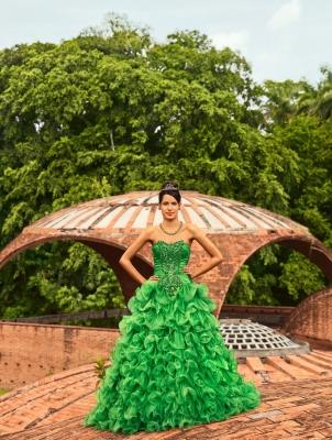 Traditions and Transitions:  Frank Thiel Portrays Cuban Quinceañeras