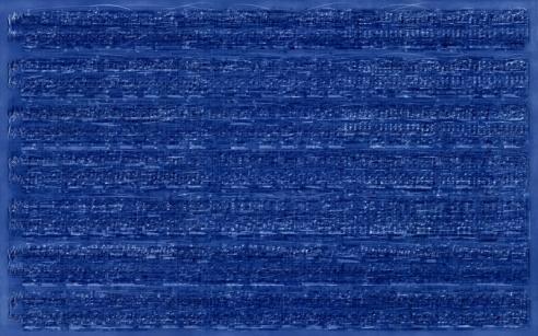 Idris Khan: Blue Rhythms