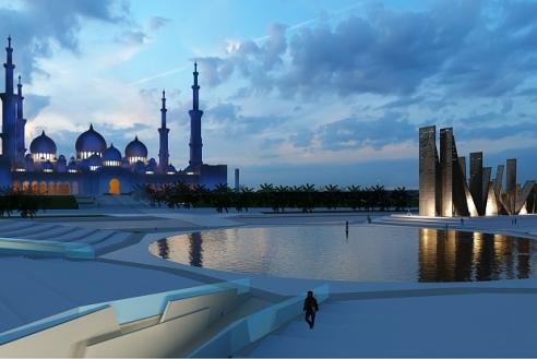British Artist Idris Khan Creates UAE's First War Memorial