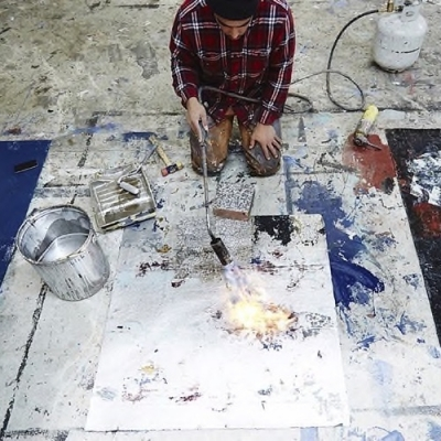 Action painting: The body electric