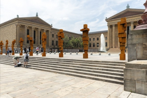 Visit Antony Gormley's Sculpture Installation in Philadelphia