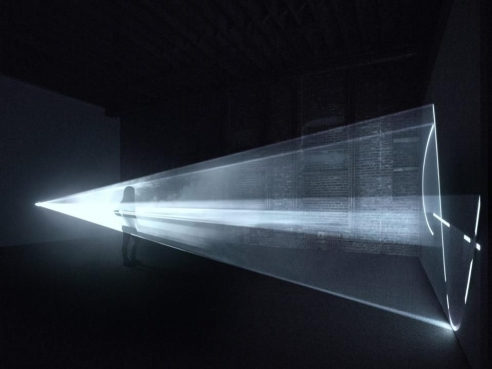 A Cone Of Light In Space Is Something You Can Understand Immediately