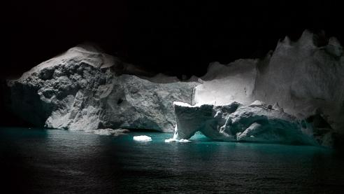 In DMA show, Julian Charrière captures the unforgiving power of nature