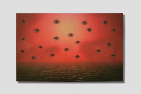 The eyes have it: Grasso's all-seeing pic at Art Basel