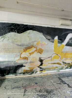 Janaina Tschäpe by Francesco Clemente