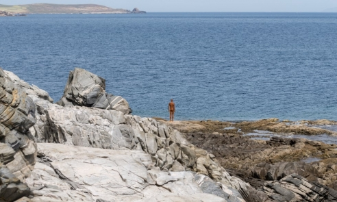 Gormley on Delos - in pictures