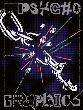"Mika Tajima ""PSYCHO GRAPHICS"" poster"