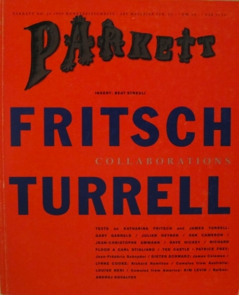 James Turrell: Parkett No. 25 1990