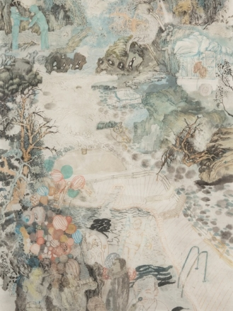 Yun-Fei Ji in conversation with Ryan Overbey at the Tang Teaching Museum