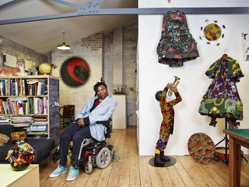 Yinka Shonibare MBE at the Metropolitan Museum of Art