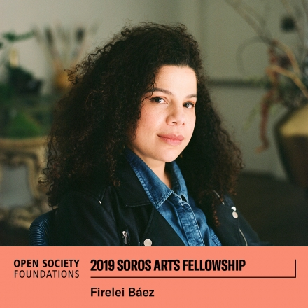 Firelei Báez Awarded 2019 Soros Art Fellowship by Open Society Foundation