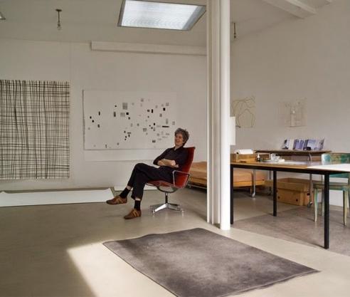 Silvia Bächli – Studio